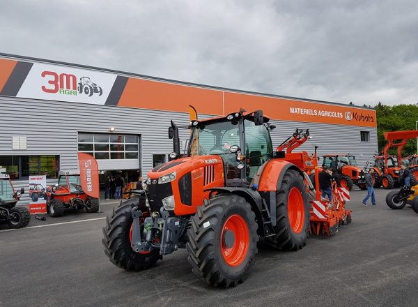 The place to be for discovering Kubota: our dealer 3M Agri!