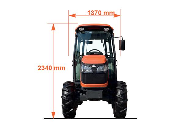 Tracteurs spécialisés M8540 Power Crawler - KUBOTA