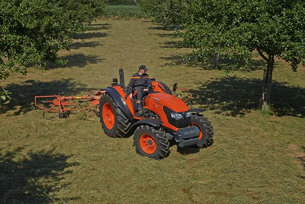 Tracteurs agricoles M7060 DTH/DTHQ - KUBOTA
