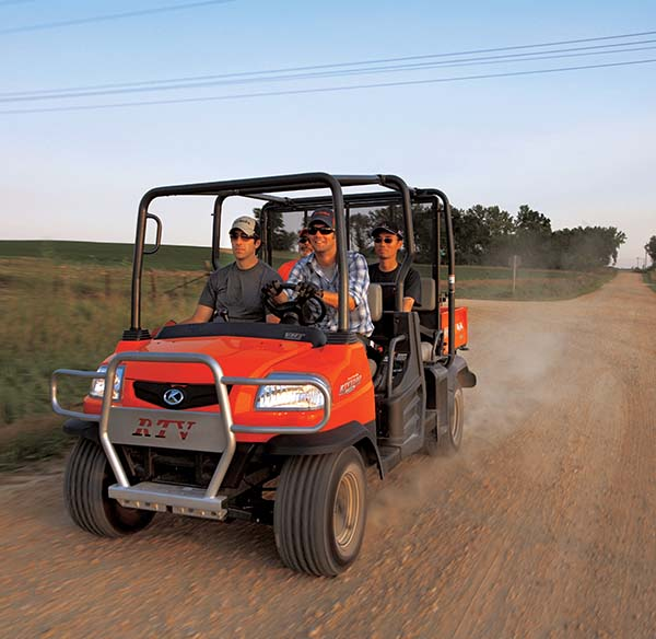 Old models RTV1140 - KUBOTA