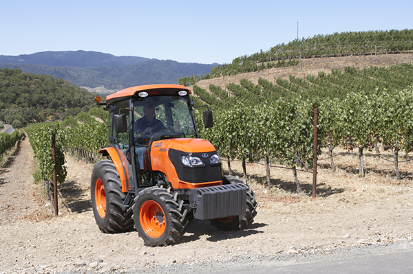 Specialised tractors M9540 DTNQ - KUBOTA