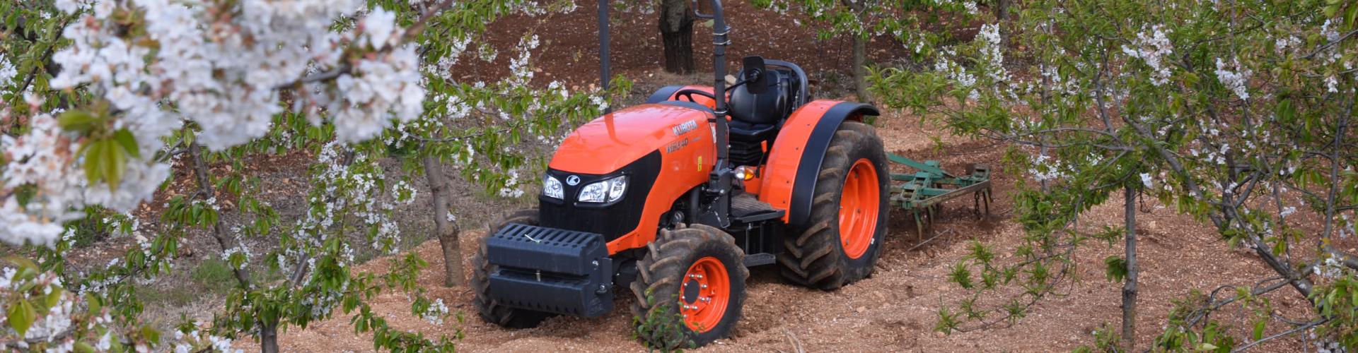 Tracteurs spécialisés