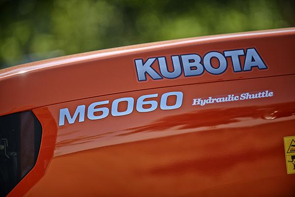 Old models M6060 DTH/DTHQ - KUBOTA
