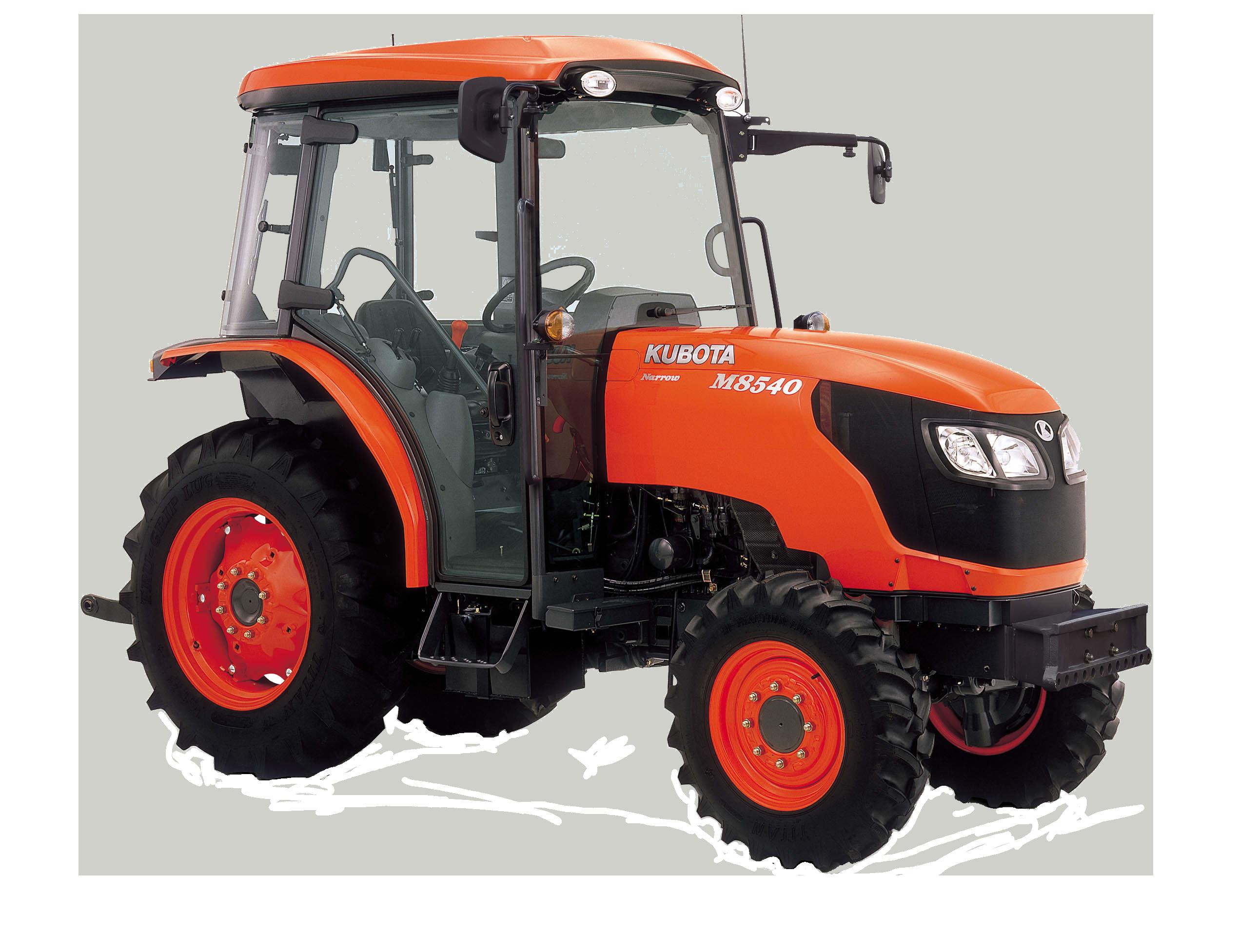 Spezialisierte traktoren M8540DTN/DTNQ - KUBOTA