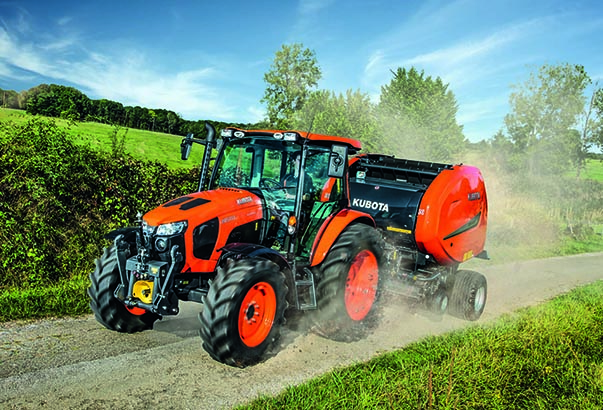 Agricultural tractors M5001 - KUBOTA