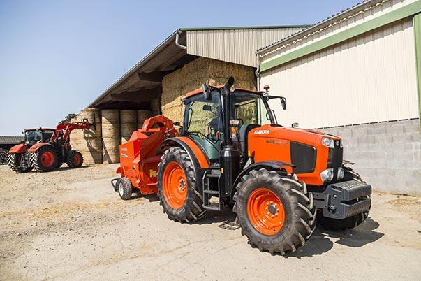 Landbouwtractoren MGX III - KUBOTA