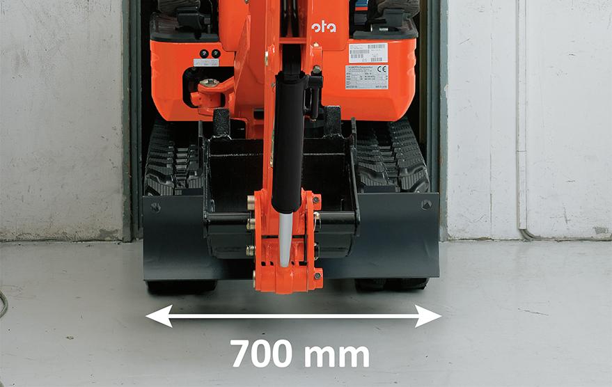 Mini-Pelles K008-3 - KUBOTA