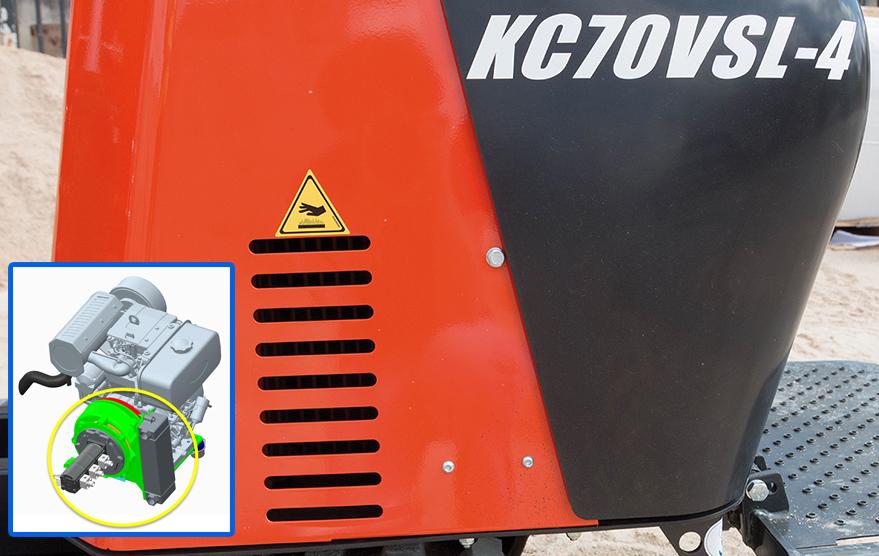Transporteurs sur chenilles KC70VSL-4 - KUBOTA