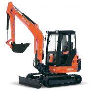 Mini-Excavators KX121-3α - KUBOTA