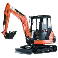 Mini-Excavators KX71-3 - KUBOTA