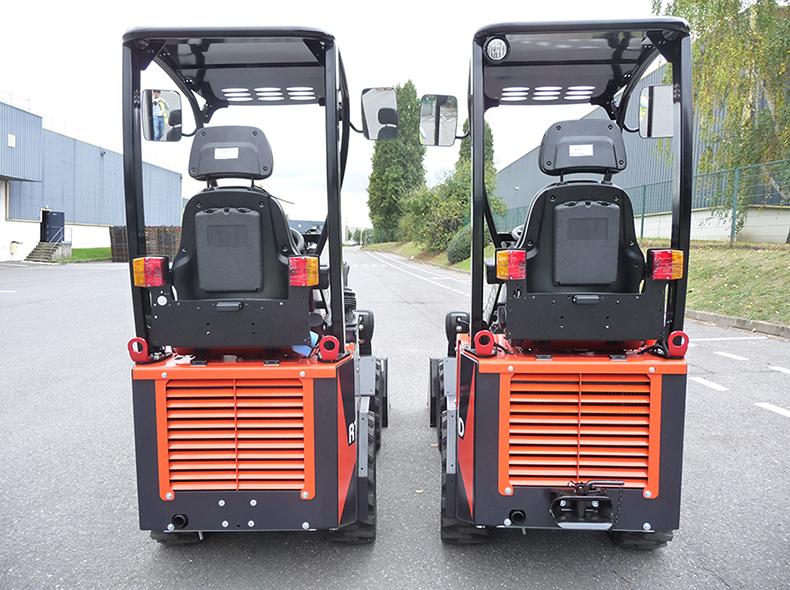 Chargeuses sur pneus RT100 - KUBOTA