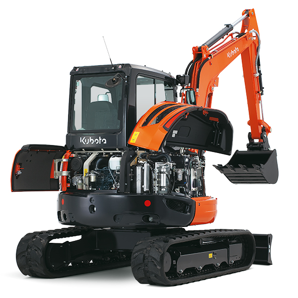 Kubota Excavator Parts : Mini excavators kubota u europe sas