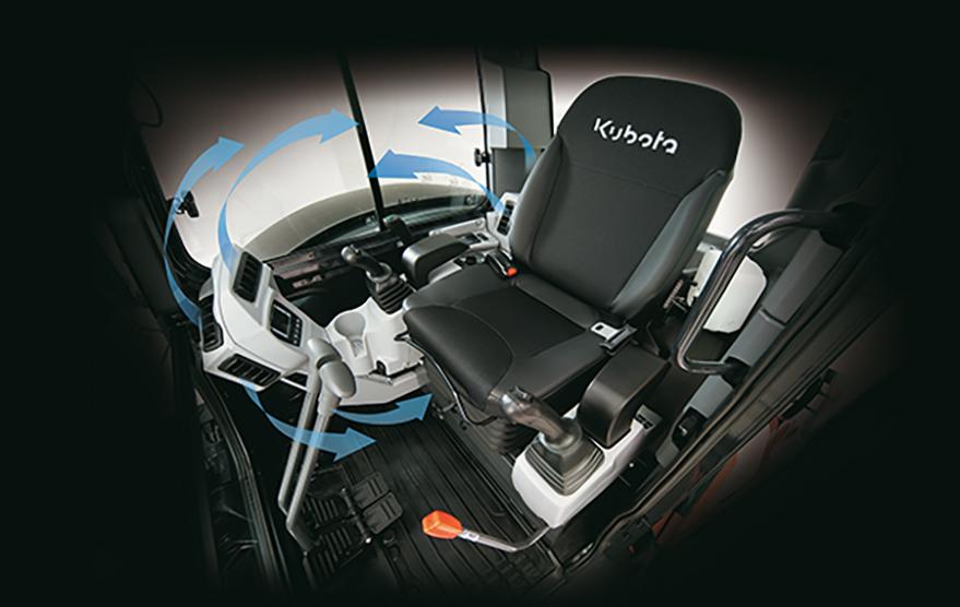 Kompaktbagger U55-4 - KUBOTA