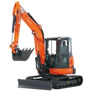 Mini-Excavators U55-4 - KUBOTA