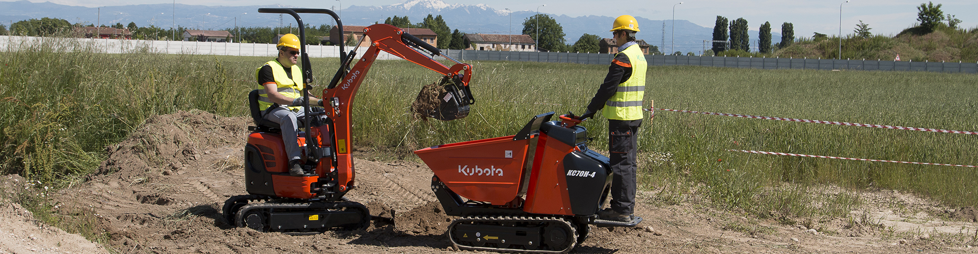 Kubota carrier dumpers series