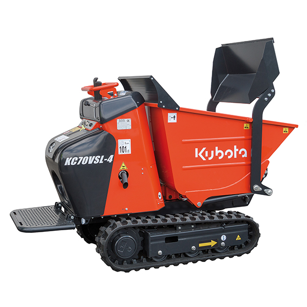 carrier dumpers kubota kc70vsl 4 kubota europe sas. Black Bedroom Furniture Sets. Home Design Ideas