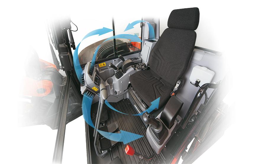 Bagger KX080-4α - KUBOTA