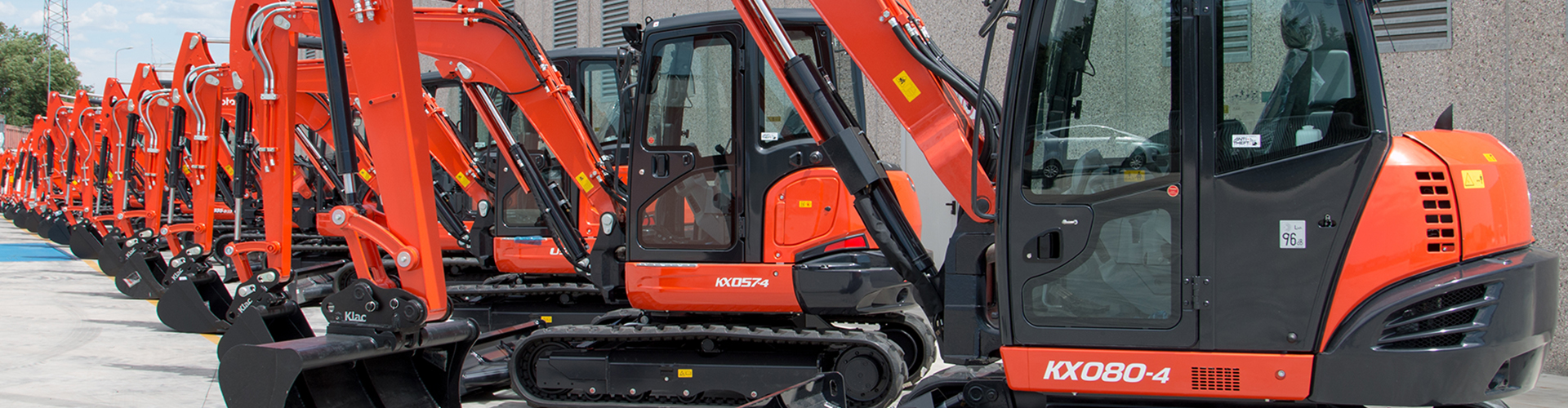 Kubota Construction Machinery