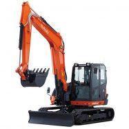 Midi-Excavators KX080-4α - KUBOTA