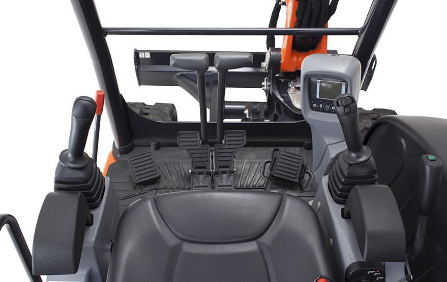 Mini-Pelles KX037-4 - KUBOTA