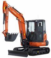 Mini-Excavators KX042-4α - KUBOTA