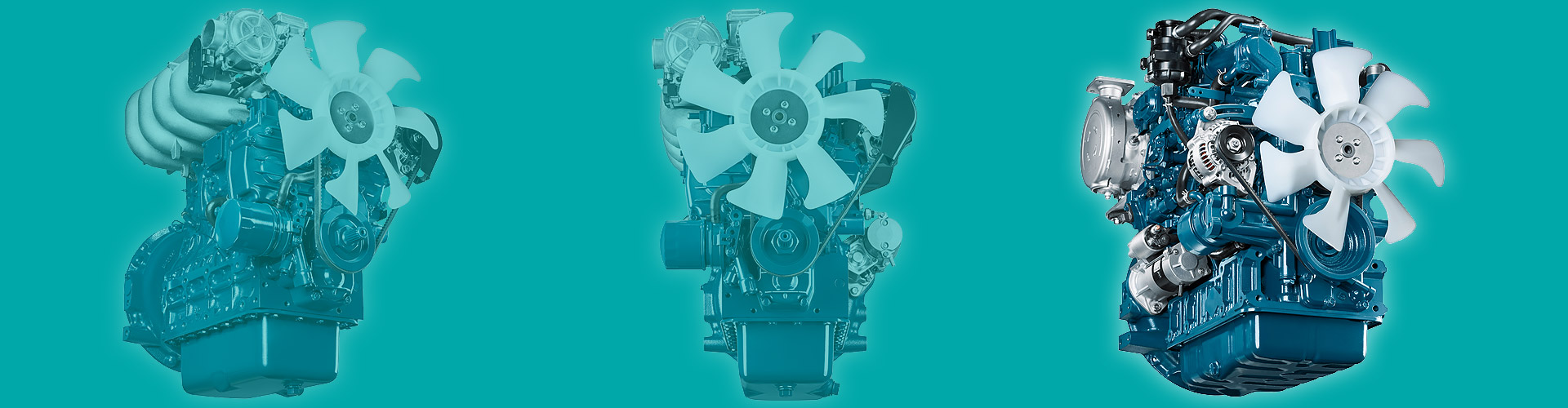 DIESEL ENGINES FOR INDUSTRIAL MACHINERY