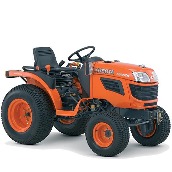 tracteurs compacts kubota b1820