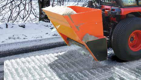 Sneeuw Strooiers – Banenstrooier - KUBOTA