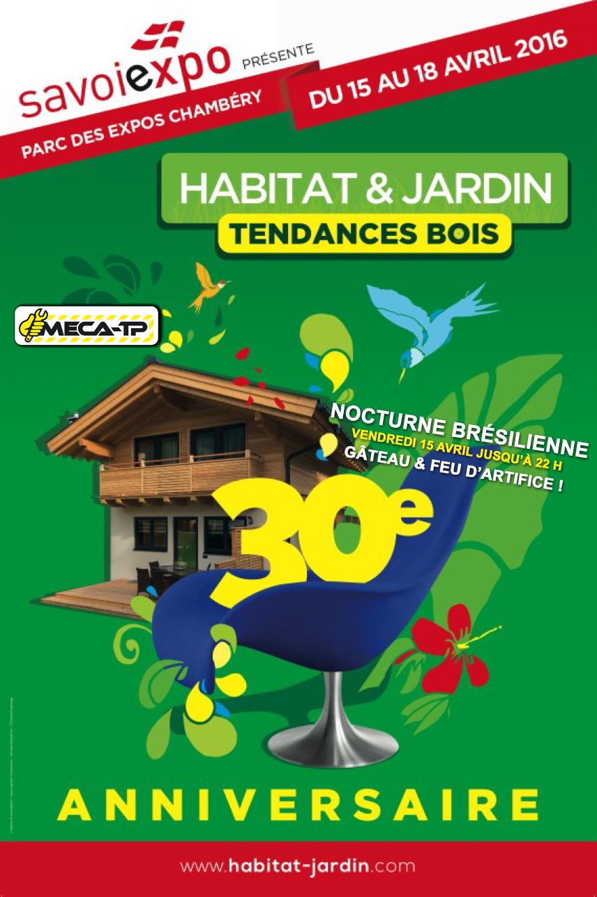 15 au 18 04 2016 meca tp au salon habitat jardin for Jardin habitat 2016